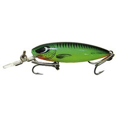 Reidy's Little Lucifer Deep Hard Body Lure 65mm Fluoro Green 65mm, Fluoro Green, bcf_hi-res