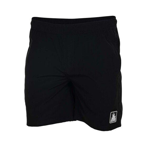 The Mad Hueys Men's Hybrid Stretch Shorts, Black, bcf_hi-res