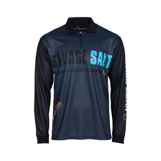 Savage Men's Salt Sublimated Polo Dark Grey S, Dark Grey, bcf_hi-res
