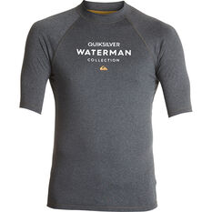 Quiksilver Men's Explore Tee Charcoal Heather S, Charcoal Heather, bcf_hi-res