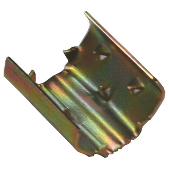 Gold Zinc Splice Clip, , bcf_hi-res
