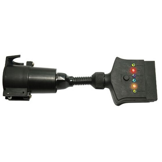 Trailer Adaptor - Flat Socket to Large Plug, , bcf_hi-res