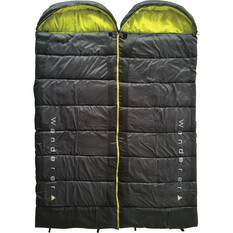 Wanderer Scorch Duo Hooded Sleeping Bag, , bcf_hi-res