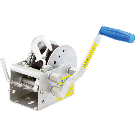 Atlantic Three Speed Trailer Winch with Webbing, , bcf_hi-res