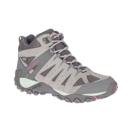 Merrell Women's Accentor 2 Mid Waterproof Hiking Boots, Paloma, bcf_hi-res