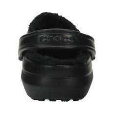 Crocs Classic Lined Unisex Clog, Black, bcf_hi-res