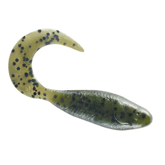 Berkley Gulp Minnow Grub Soft Plastic Lure 3in Watermelon, Watermelon, bcf_hi-res