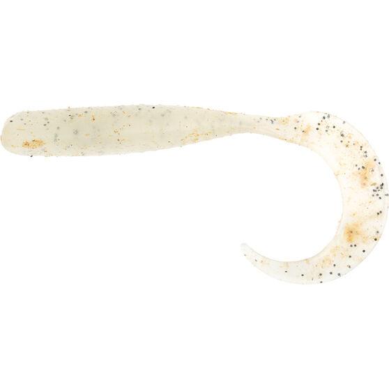 Savage Curltail Soft Plastic Lure 10cm Glow, Glow, bcf_hi-res