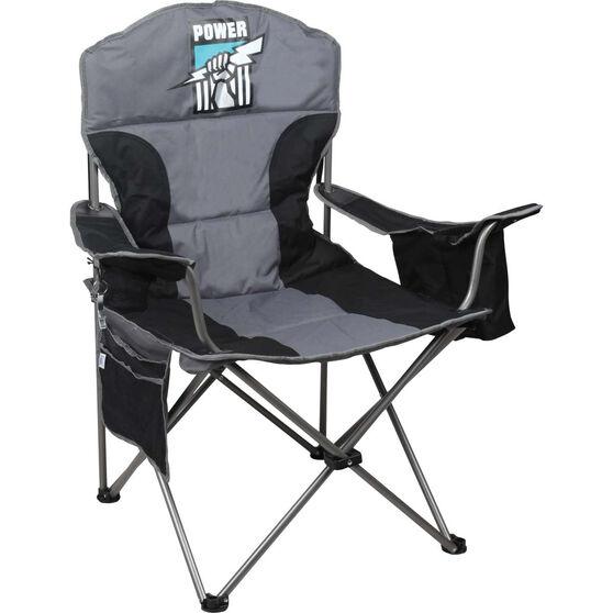 AFL Port Adelaide Cooler Arm Chair, , bcf_hi-res