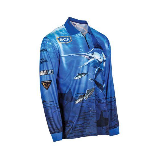 BCF Marlin Sublimated Polo, Blue, bcf_hi-res