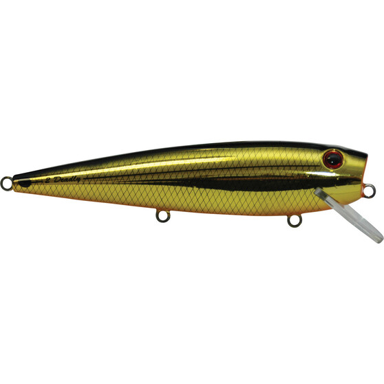 Killalure 2Deadly Hard Body Lure 85mm Gold Black 85mm, Gold Black, bcf_hi-res