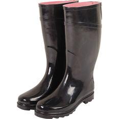 Explore 360 Women's Gumboots Black 6, Black, bcf_hi-res