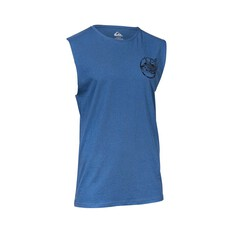 Quiksilver Waterman Men's Crawl Intentacles Tank Ensign Blue S, Ensign Blue, bcf_hi-res