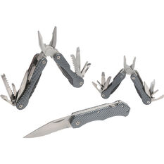 Wanderer Multi-Tool and Knife 3 Piece Pack, , bcf_hi-res