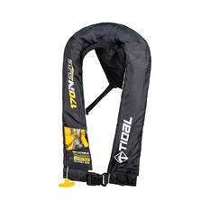 Tidal Inflatable Adult Elite 170N PFD Black, Black, bcf_hi-res