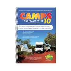 Hema Camps 10 Australia Wide Spiral Book, , bcf_hi-res