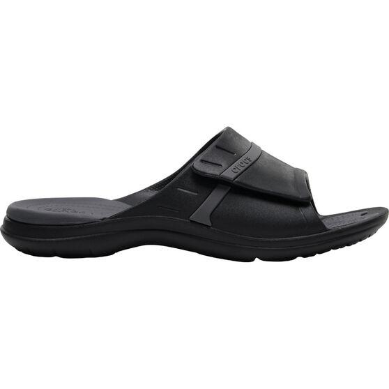 Crocs Men's Modi Sport Slide, Black / Graphite, bcf_hi-res