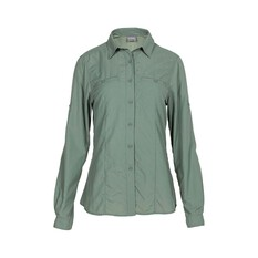 OUTRAK Women's Long Sleeve Hiking Shirt Lily Pad 8, Lily Pad, bcf_hi-res