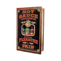 Hatcher Ass Kicking Hot Sauce Challenge Book, , bcf_hi-res