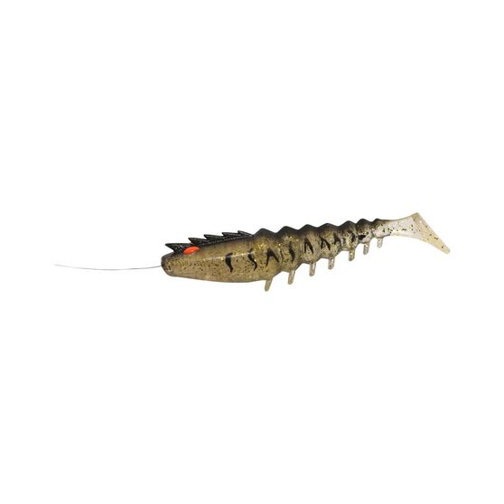 Squidgies Prawn Paddle Tail Soft Plastic Lure 110mm, , bcf_hi-res