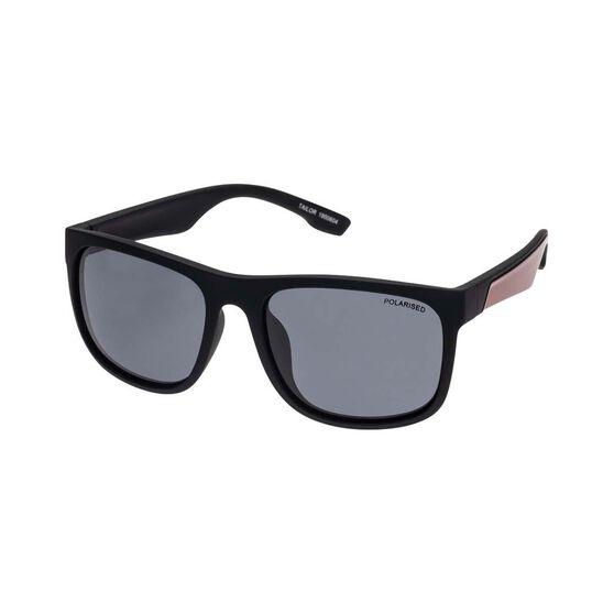 Fish Men's Tailor Polarised Sunglasses Black / Smoke Lens, , bcf_hi-res