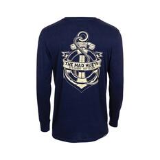 The Mad Hueys Men's Marine Long Sleeve Tee, Marine, bcf_hi-res