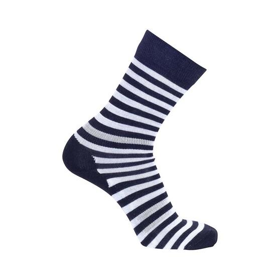 Macpac Footprint Socks, Black Stripe, bcf_hi-res