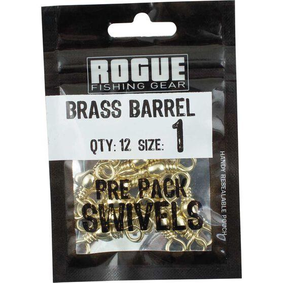 Rogue Brass Barrel Swivel 12 Pack, , bcf_hi-res
