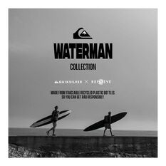 Quiksilver Waterman Men's Paddle 4 Jacket, Black, bcf_hi-res