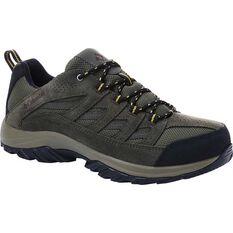 Columbia Men's Crestwood Low Waterproof Hiking Boots Nori / Madder Brown 8, , bcf_hi-res