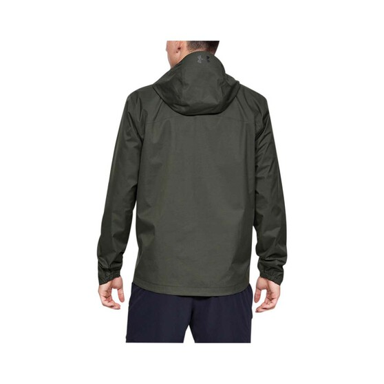 Under Armour Men's Overlook Jacket Baroque Green / Black M, Baroque Green / Black, bcf_hi-res