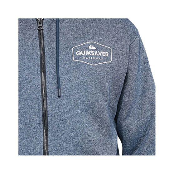 Quiksilver Waterman Men's Rising Water Sherpa Hoodie, Navy Iris, bcf_hi-res