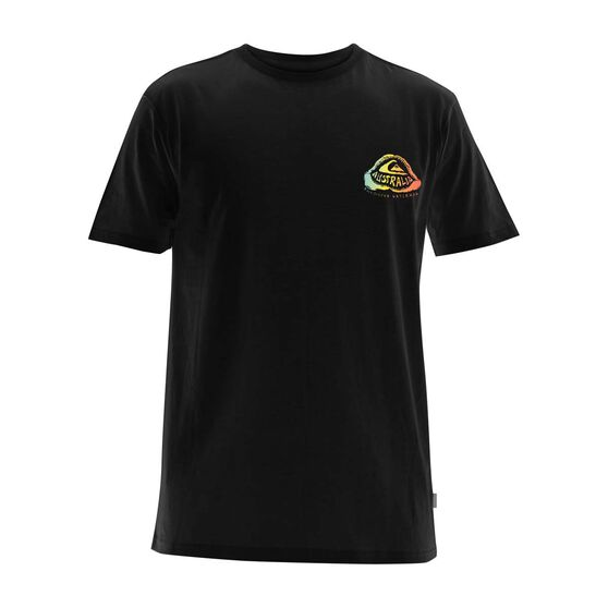 Quiksilver Waterman Men's Oz Jaws Tee, Black, bcf_hi-res