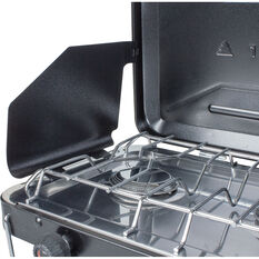 Wanderer LPG Portable Stove with Drip Tray 3 Burner, , bcf_hi-res