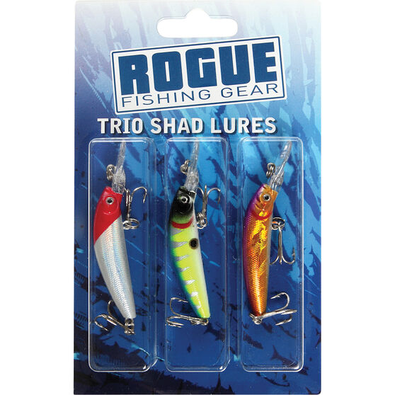 Rogue Shad Hard Body Lure 3 Pack, , bcf_hi-res