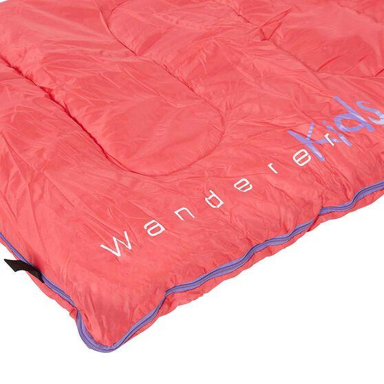 Wanderer MiniFlame Hooded Sleeping Bag, , bcf_hi-res