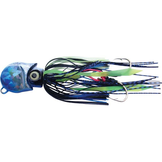 Gillies Ockta Slow Jig Lure 300g Blue, Blue, bcf_hi-res