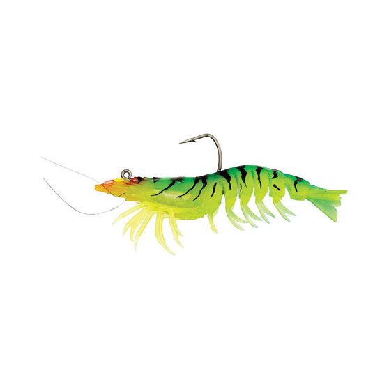Zerek Absolute Shrimp Soft Plastic Lure 3.5in Giant Tiger, Giant Tiger, bcf_hi-res