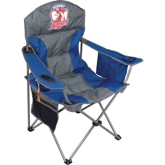 NRL Roosters Camp Chair, , bcf_hi-res