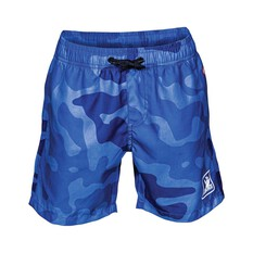 The Mad Hueys Kids Armed Camo Boardies, Blue, bcf_hi-res