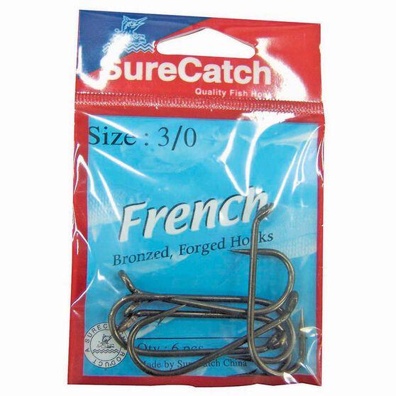 Surecatch French Forged Hooks 2 / 0 10 Pack, , bcf_hi-res