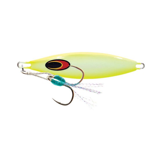 Nomad Buffalo Jig Lure 60g Chartreuse White Glow, Chartreuse White Glow, bcf_hi-res