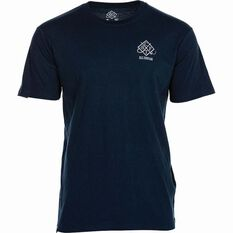 BCF THREADS Men's Classic Tee Navy S Men's, Navy, bcf_hi-res