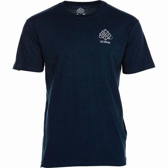 BCF THREADS Men's Classic Tee, Navy, bcf_hi-res