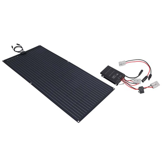 Wanderer Semi-Flex 160W Solar Panel Kit, , bcf_hi-res