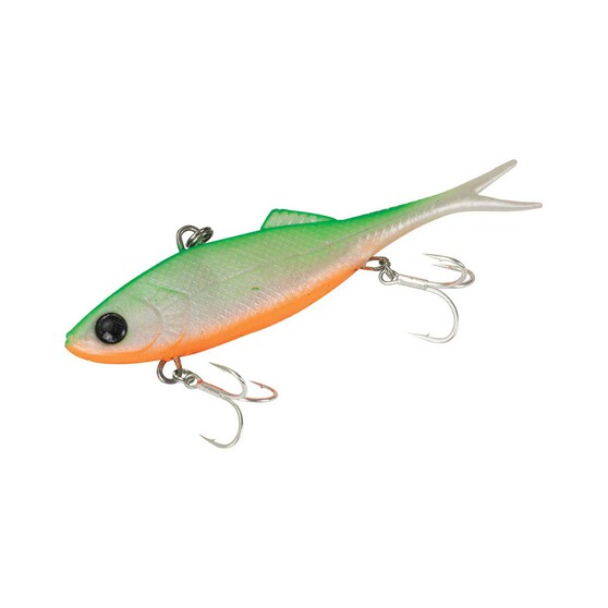 Berkley Shimma Shad Fork Tail Vibe Soft Plastic Lure 120mm Jack Flash 120mm, Jack Flash, bcf_hi-res