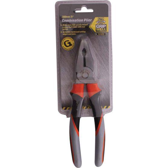 Gripwell Combination Pliers 200mm, , bcf_hi-res