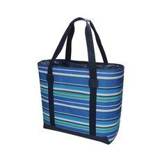 Wanderer Summer Stripe Beach Cooler Bag, , bcf_hi-res