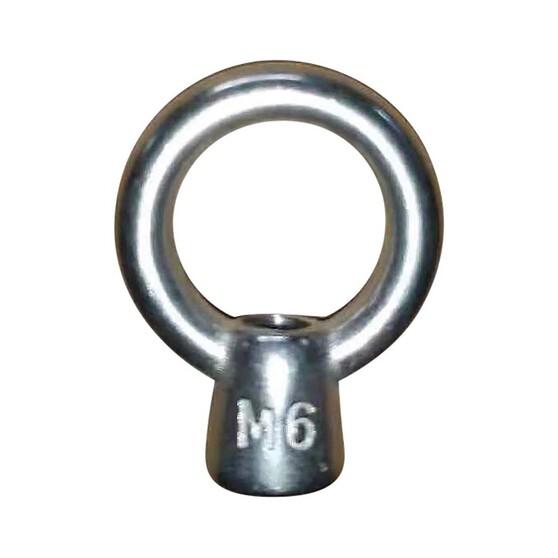 Blueline Stainless Steel Eye Nut 6mm, , bcf_hi-res