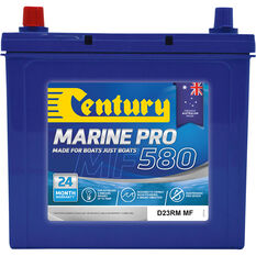 MP580/DR23RM MF Marine Battery 580 CCA, , bcf_hi-res